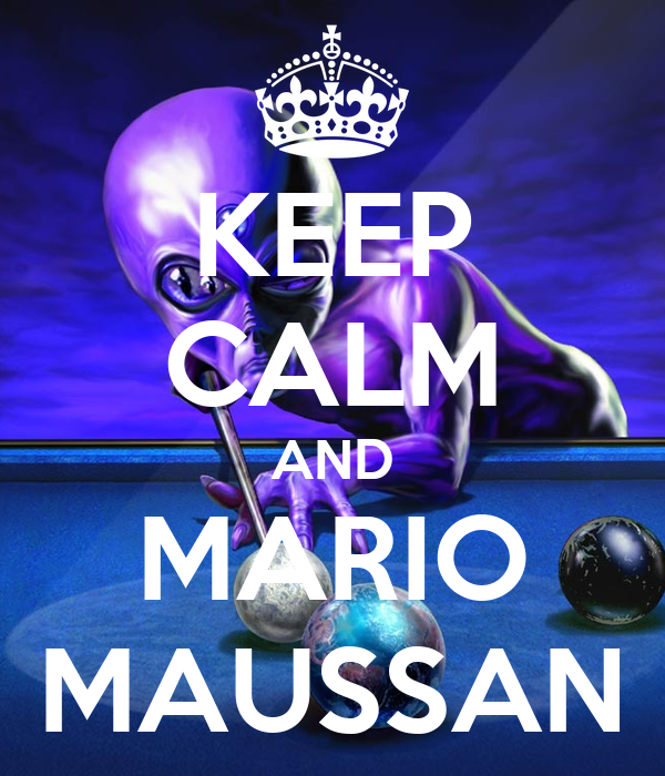 KEEP CALM AND MARIO MAUSSAN