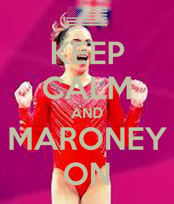 KEEP CALM AND MARONEY ON