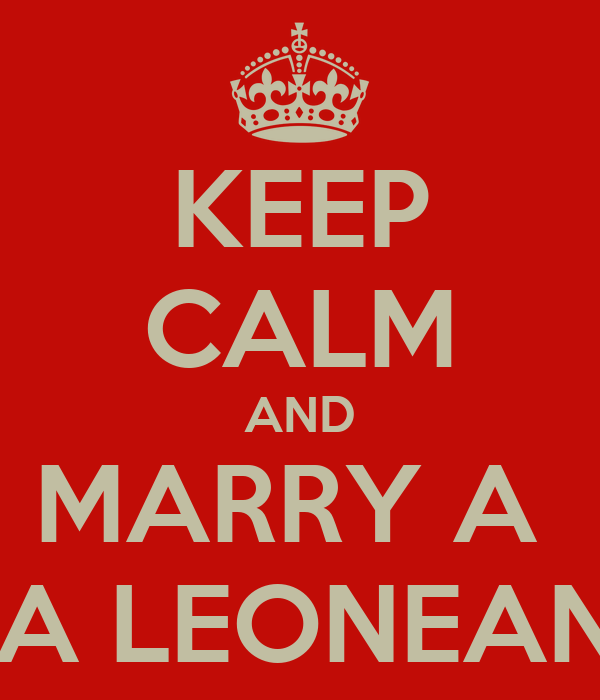 KEEP CALM AND MARRY A  SIERRA LEONEAN GIRL