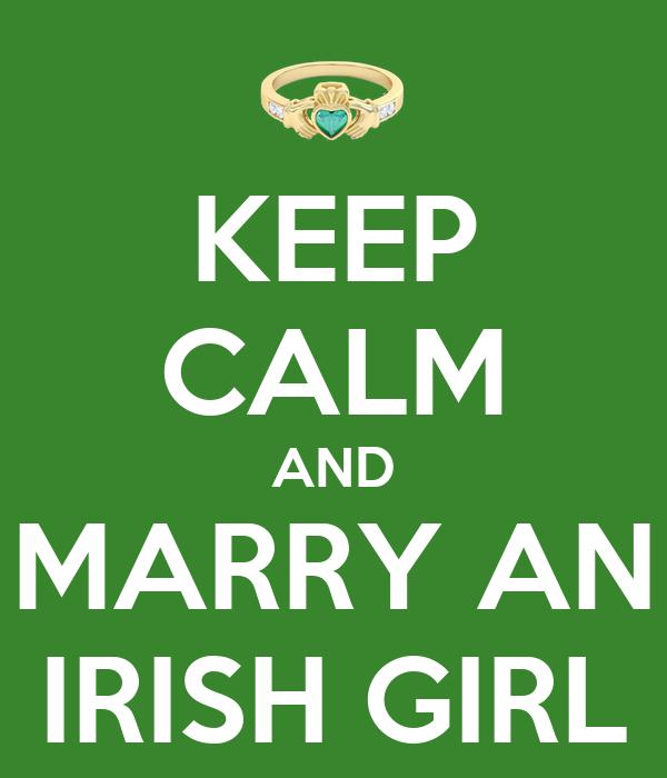 Marry irish girl