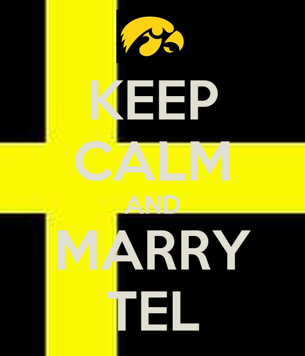 KEEP CALM AND MARRY TEL