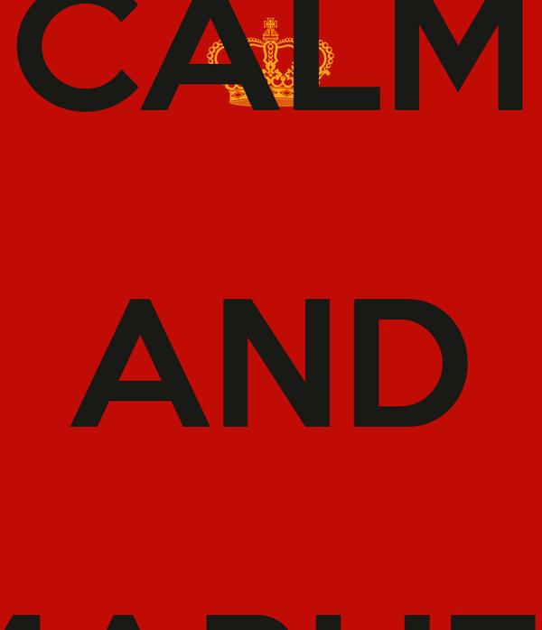 KEEP CALM AND MARUEL SKATER