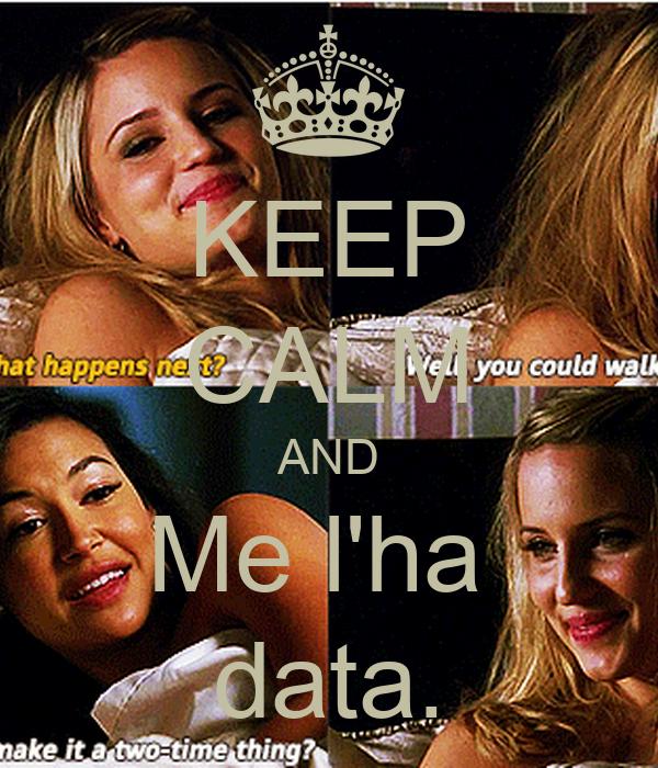 KEEP CALM AND Me l'ha  data.