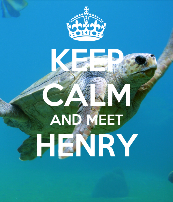 KEEP CALM AND MEET HENRY