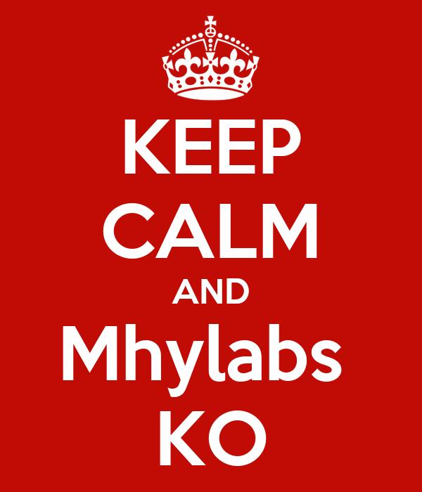 KEEP CALM AND Mhylabs  KO