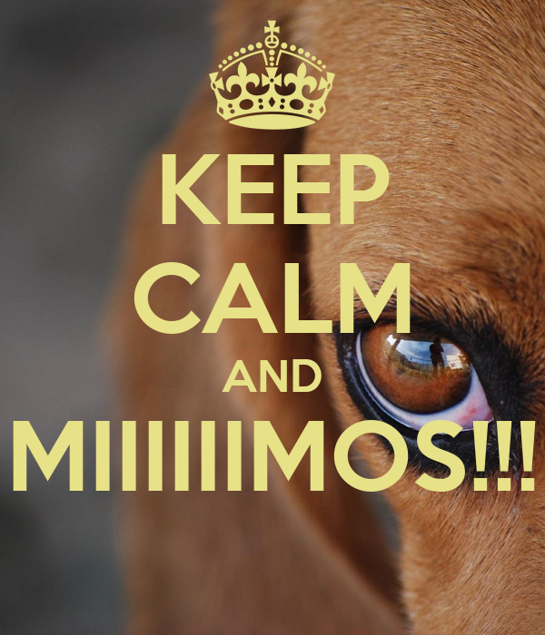 KEEP CALM AND MIIIIIIMOS!!!