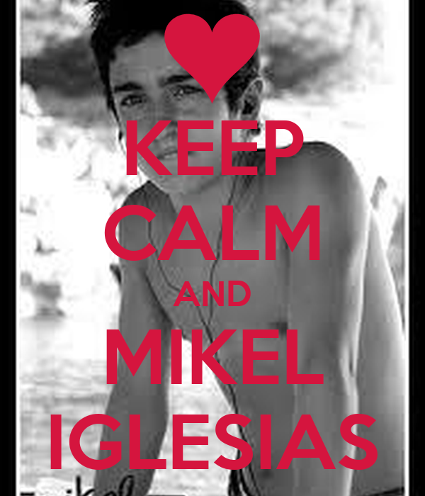 KEEP CALM AND MIKEL IGLESIAS