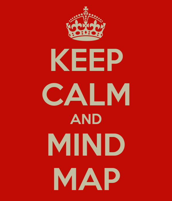 KEEP CALM AND MIND MAP