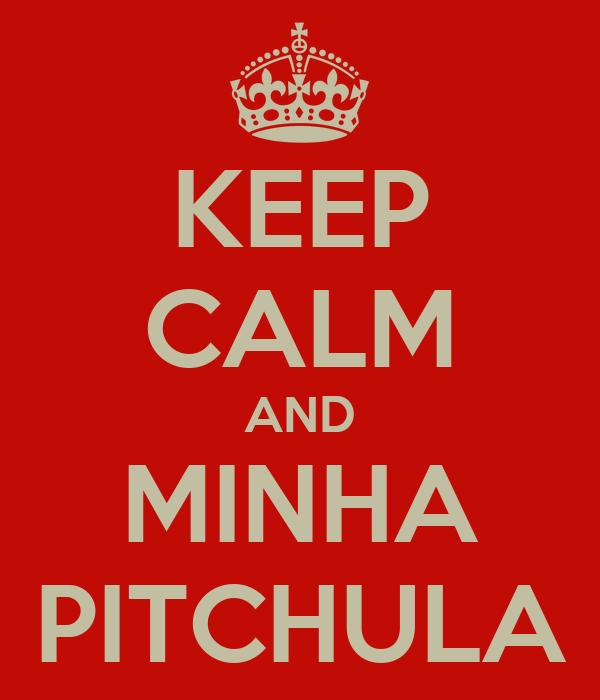 KEEP CALM AND MINHA PITCHULA