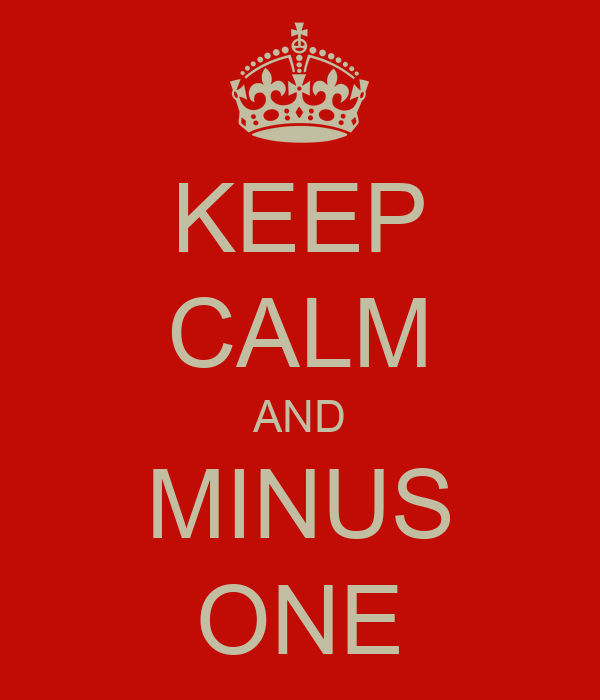how to create a minus one