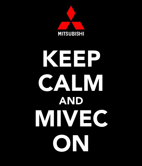 KEEP CALM AND MIVEC ON