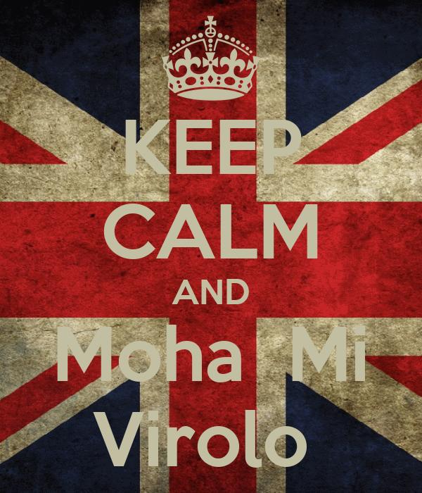 KEEP CALM AND Moha  Mi Virolo