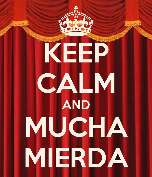 KEEP CALM AND MUCHA MIERDA