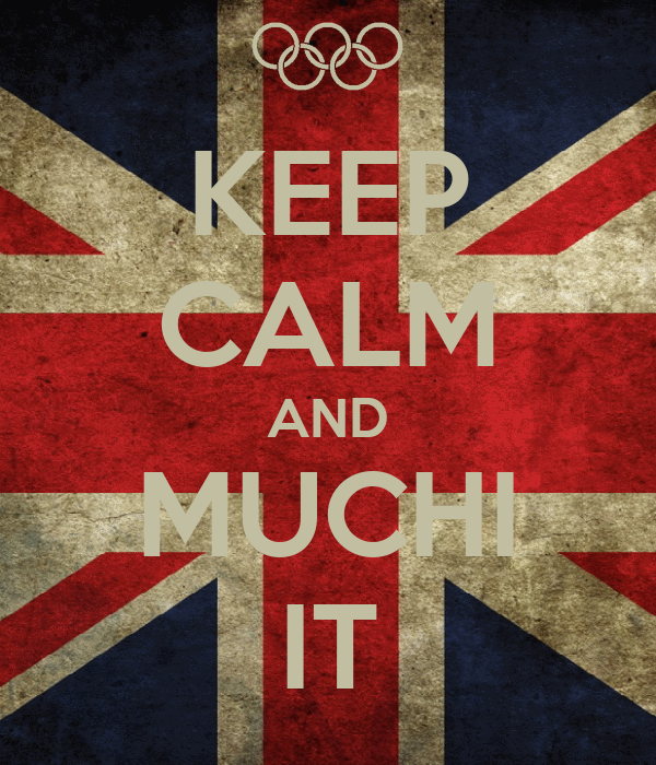 KEEP CALM AND MUCHI IT