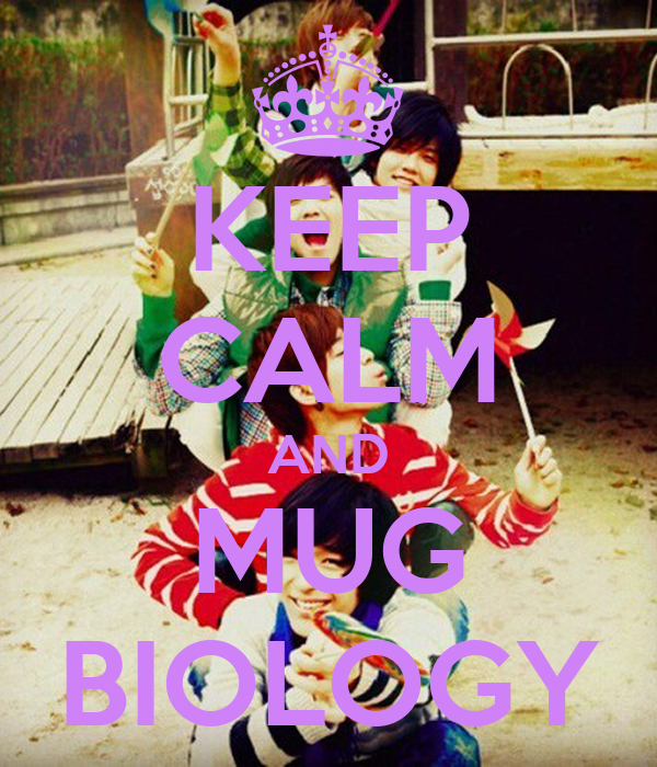 KEEP CALM AND MUG BIOLOGY
