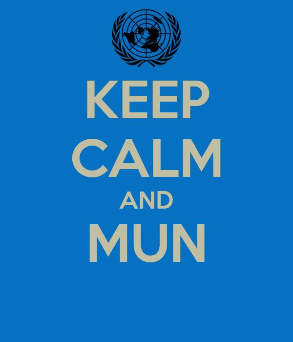 KEEP CALM AND MUN