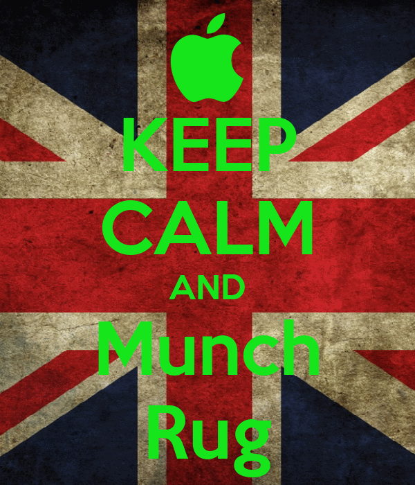 KEEP CALM AND Munch Rug
