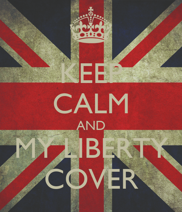 KEEP CALM AND MY LIBERTY COVER