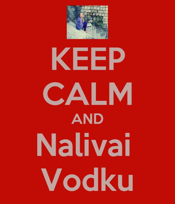 KEEP CALM AND Nalivai  Vodku