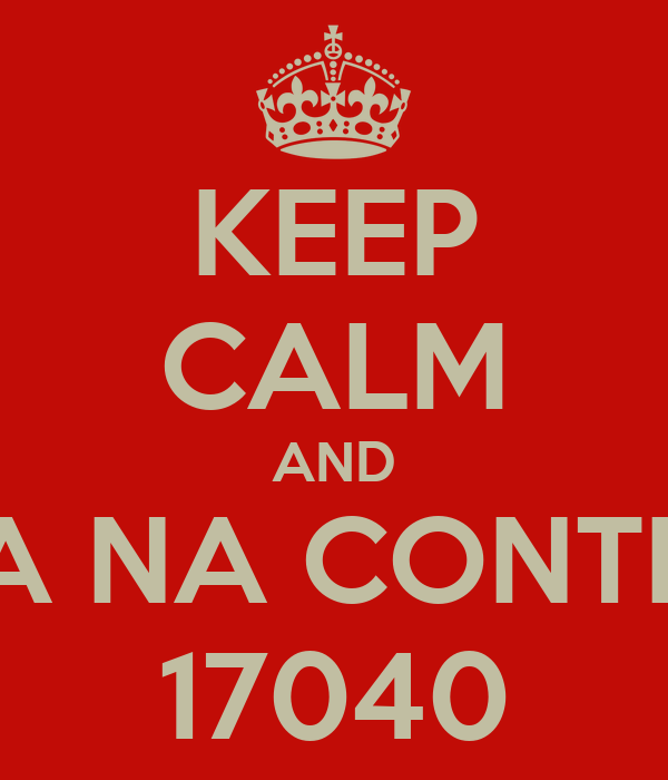 KEEP CALM AND NAO VA NA CONTRAMAO 17040