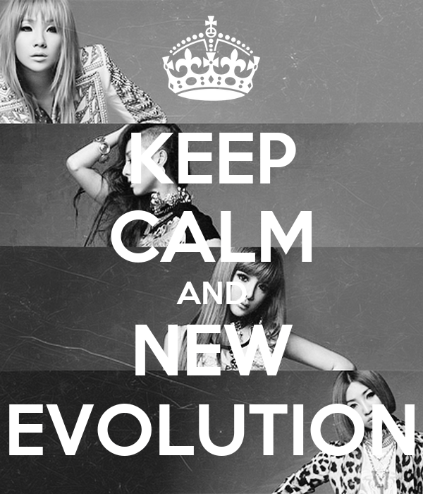 KEEP CALM AND NEW EVOLUTION