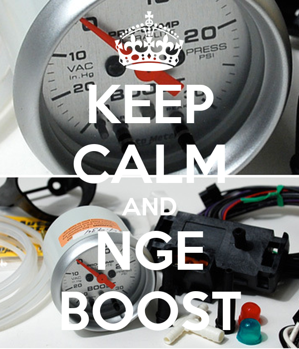 KEEP CALM AND NGE BOOST