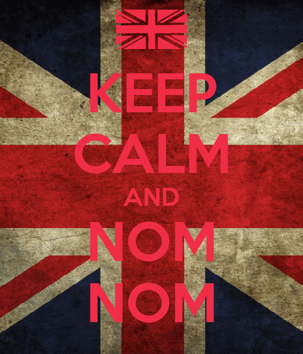 KEEP CALM AND NOM NOM