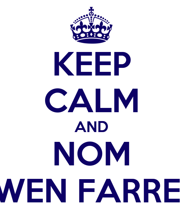 KEEP CALM AND NOM OWEN FARRELL