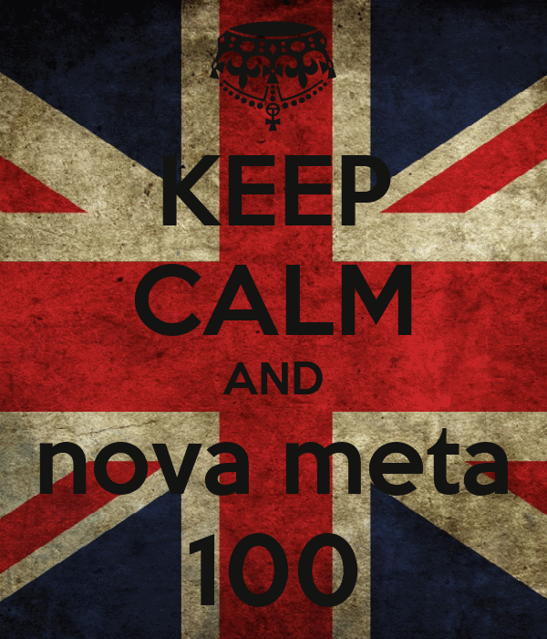 KEEP CALM AND nova meta 100