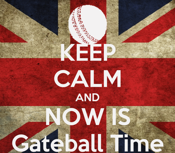 KEEP CALM AND NOW IS Gateball Time