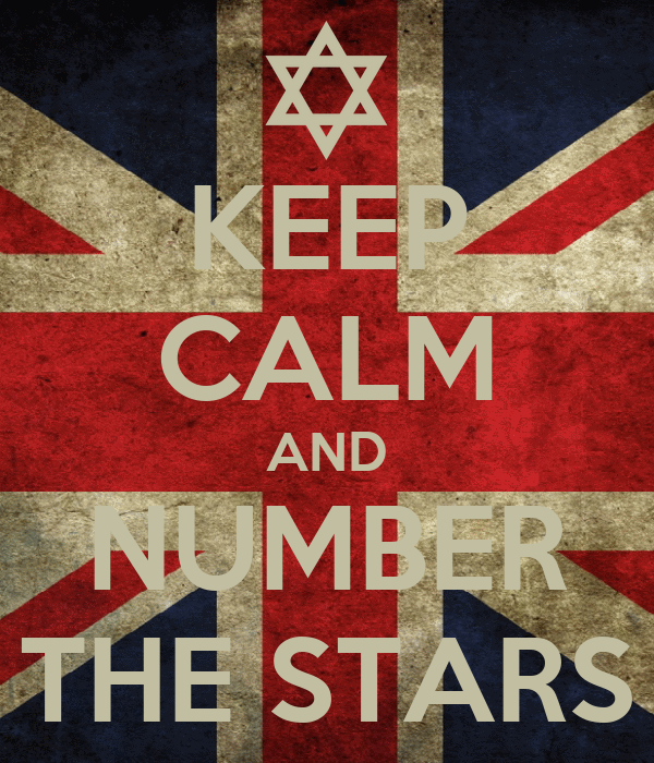 KEEP CALM AND NUMBER THE STARS