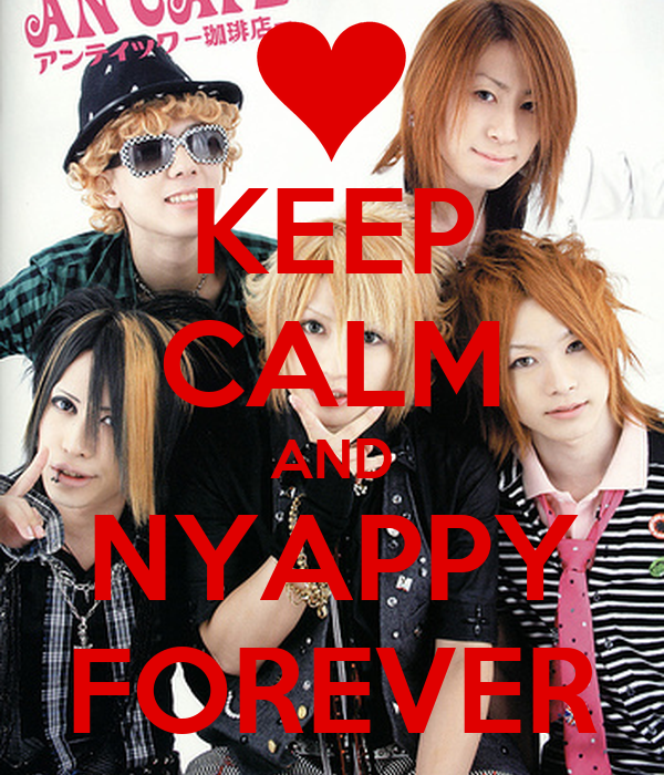 KEEP CALM AND NYAPPY FOREVER