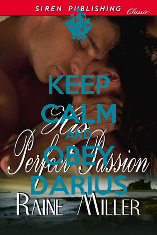 KEEP CALM AND OBEY DARIUS