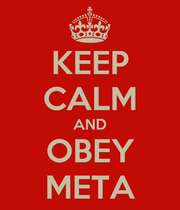 KEEP CALM AND OBEY META