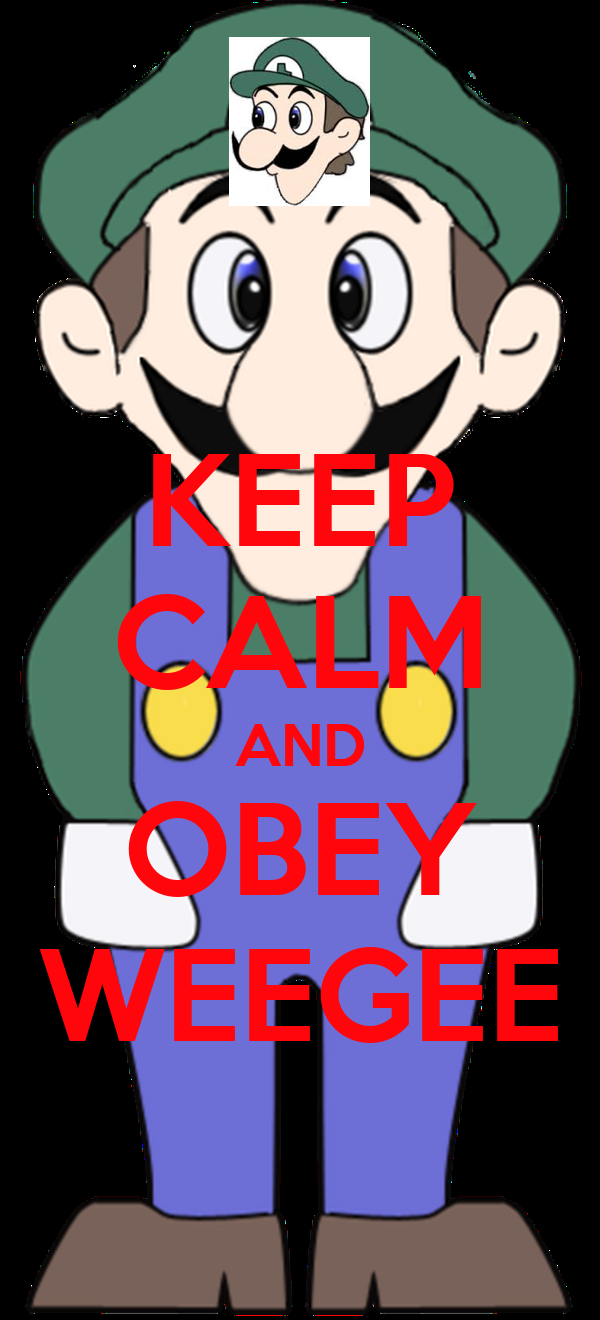 KEEP CALM AND OBEY WEEGEE