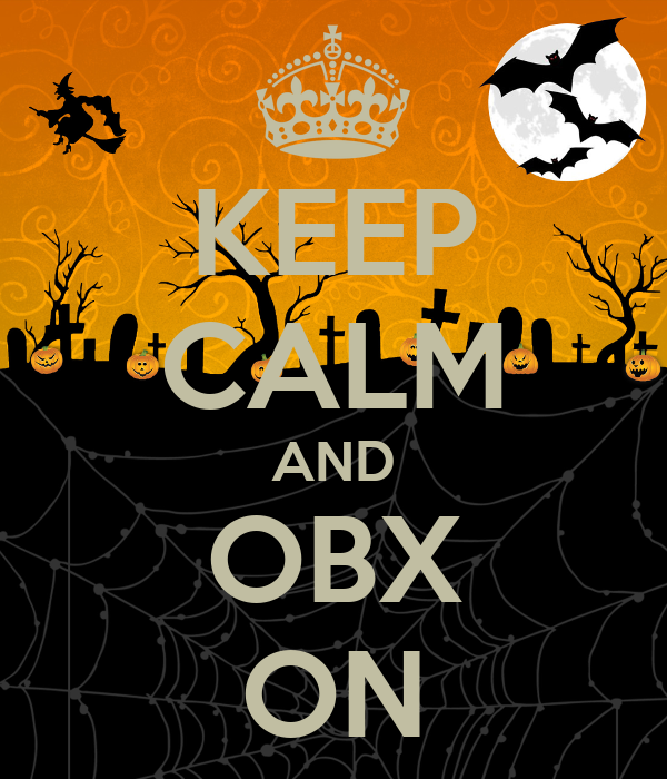 KEEP CALM AND OBX ON