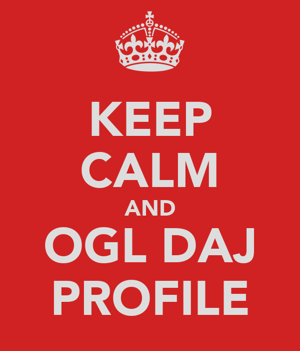 KEEP CALM AND OGLĄDAJ PROFILE