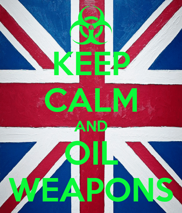 KEEP CALM AND OIL WEAPONS