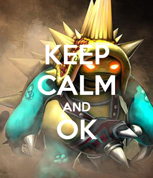 KEEP CALM AND OK