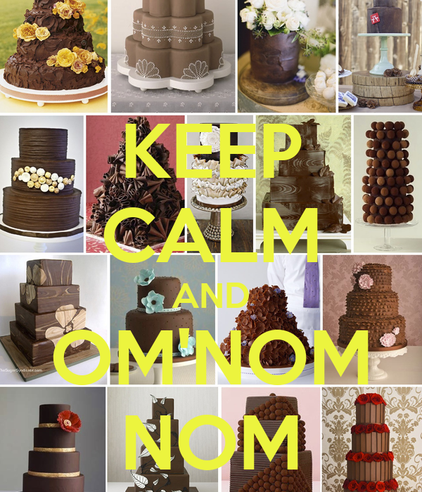 KEEP CALM AND OM'NOM NOM