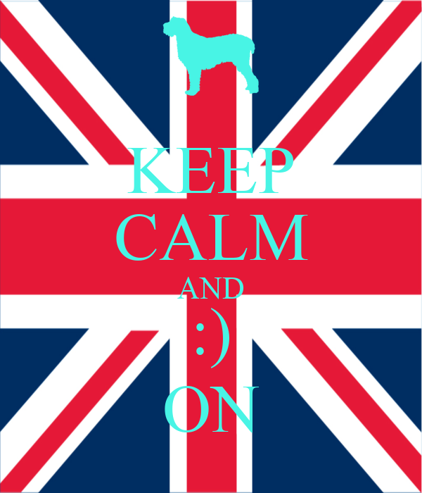 KEEP CALM AND :) ON
