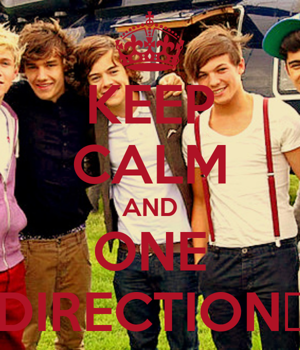 KEEP CALM AND ONE DIRECTION♥