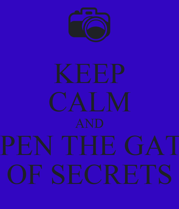 secret legacy how to open gate