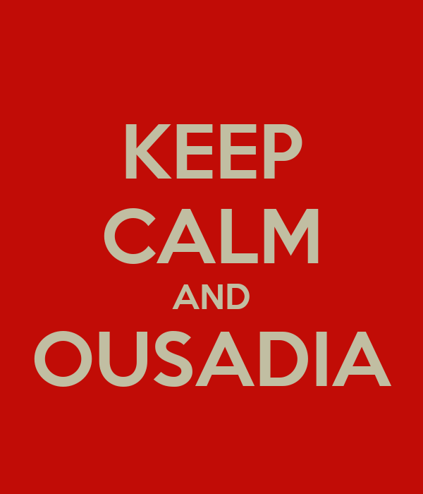 KEEP CALM AND OUSADIA