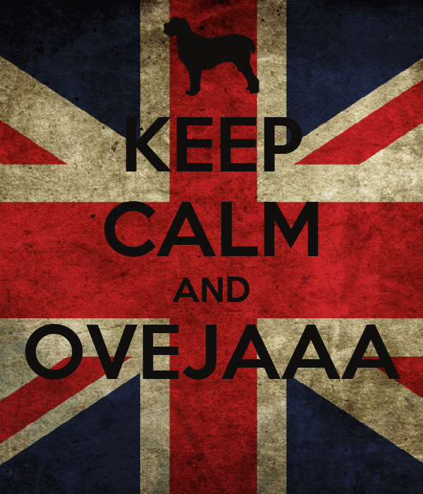 KEEP CALM AND OVEJAAA