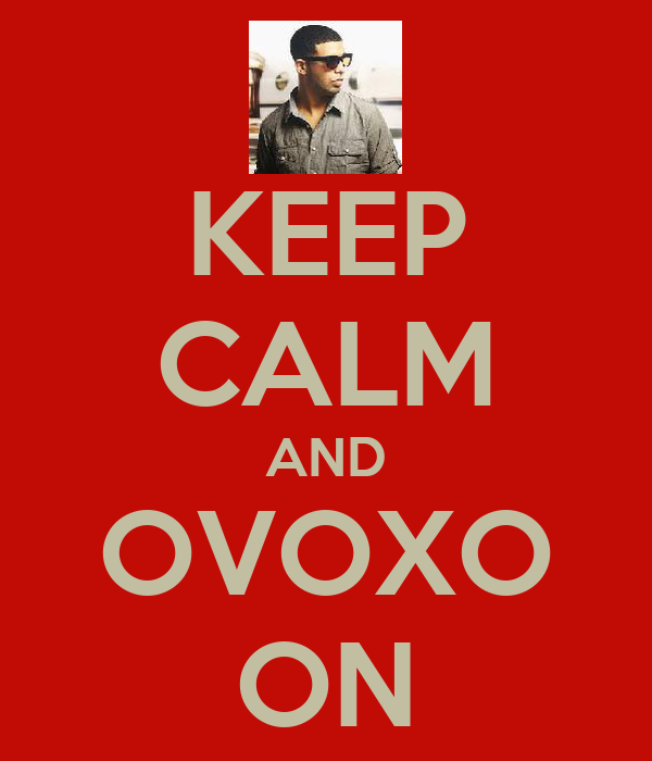 KEEP CALM AND OVOXO ON