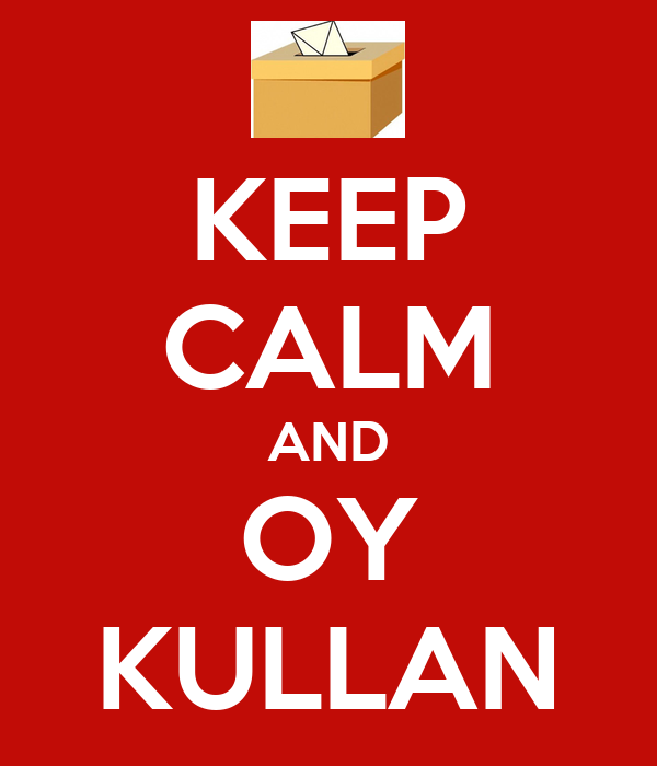 KEEP CALM AND OY KULLAN