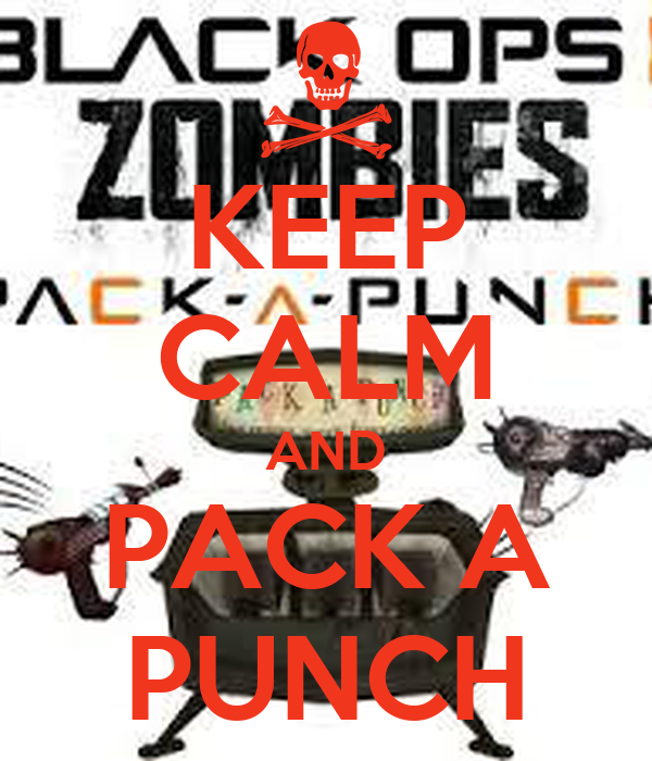 KEEP CALM AND PACK A PUNCH