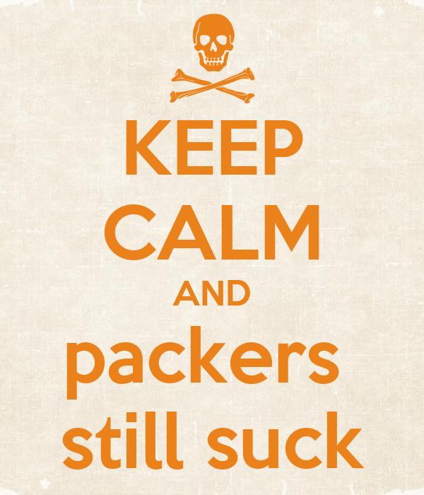 Packers still suck
