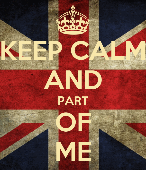 KEEP CALM AND PART OF ME